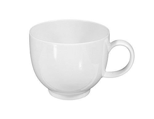 Seltmann Weiden Obere zur Kaffeetasse 0,21 l 6 Stück Sketch Weiss Uni 00003