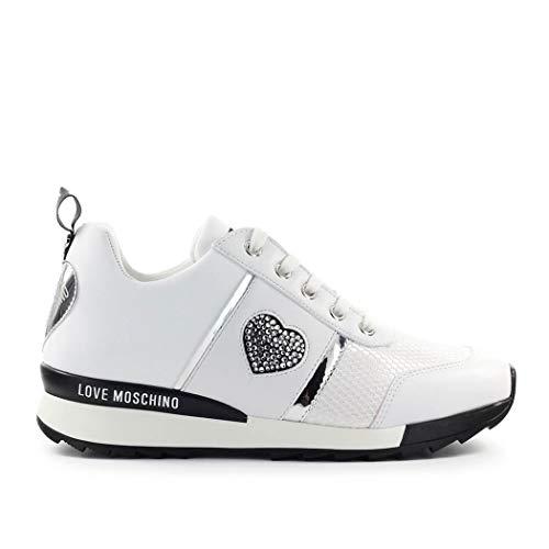 Love Moschino Sneaker Bianca Cuore 37 SS 2020