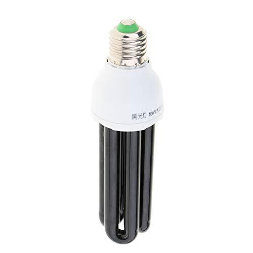 Baoblaze UV Schwarzlicht E27 Schwarzlichtlampe Glühbirne Effektlampe Fluoreszenz Blacklight - 3U 40W