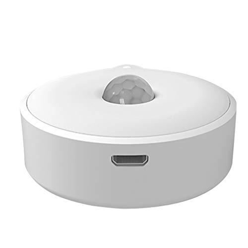 vreplrse Lampada del sensore Corpo Notte Automatico di induzione Human Light LED per Lato del Letto Corridoio Armadio a Muro