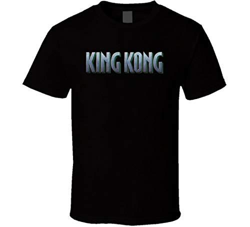 N/N King Kong Classic Movie Gigante Fan T-shirt Nero XL