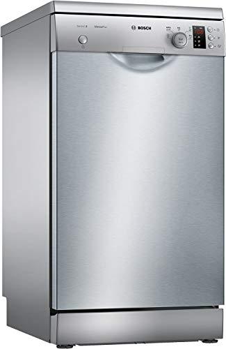 Bosch SPS25CI03E Geschirrspüler Freistehend / A+++ / 220 kWh/Jahr / 2380 L/Jahr / LoadSensor / Anti-Fingerprint / Edelstahl