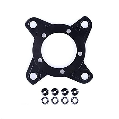 SDFLKAE Fahrrad Kettenblatt Spider Adapter für 104BCD Scheibenhalter Ständer für Ba-fang Elektromotor für Mountainbike Ersatzteil Zubehör(Size:1)