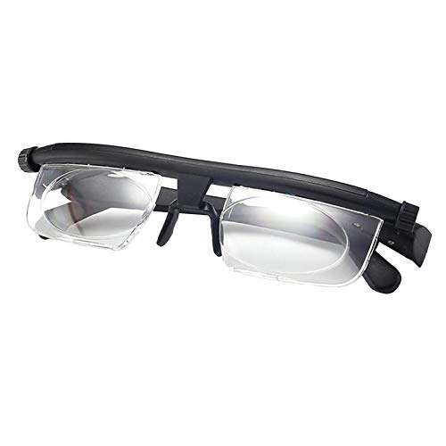 harayaa Gafas de Presbicia Unisex Lector de Lectura Ajustable Dial Variable Visión
