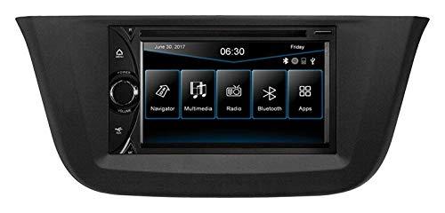 ESX VN6312D - GPS con Bluetooth / Tmc / USB/ DVD / 3D / SD para Iveco Daily VI (desde 2014)