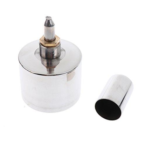 Quemador de Acero Inoxidable de Lámpara Accesorios de Velas Mechas laboratorios de 400ML