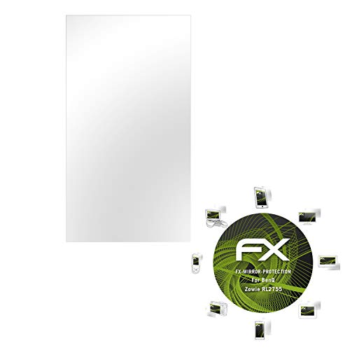 atFoliX Displayfolie kompatibel mit BenQ Zowie RL2755 Spiegelfolie, Spiegeleffekt FX Schutzfolie