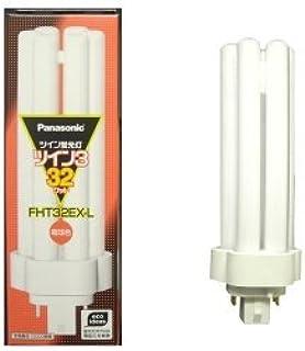 パナソニック 10個セット コンパクト形蛍光灯 32W 3波長形電球色 ツイン蛍光灯 ツイン3(6本束状ブリッジ) FHT32EX-L_set
