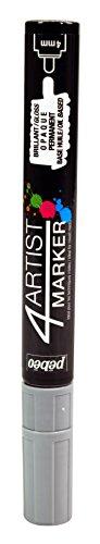 Pebeo 4Artist Marker, Oil Paint Marker, 4 mm - Grey