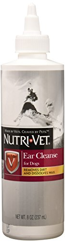 Nutri-Vet Ear Cleanse for Dogs | Cleans & Deodorizes | 8 Ounces