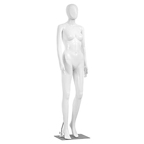 Adjustable Female Mannequin Full Body - 68.9' Detachable Female Dress Form Full Body Mannequin Poseable Life Size Mannequin Torso - Great for Retail Shops and Clothing Shops - SereneLife SLMAQFE