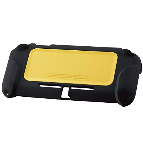 """ELECOM """"ZEROSHOCK Shock Absorption Protector Compatible with Nintendo Switch Lite, Protect from Impact and Scratch/Yellow/GM-NSLZEROYL"""