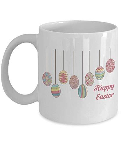 Frohe Ostern Bunt, Frohe Ostern Tasse, Ostern Tasse, Ostern Kaffeetassen