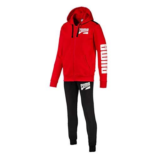 PUMA 580491-11 Suit Men - Chándal para Hombre, Color Rojo