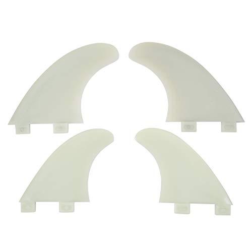 Circle One - Juego de Aletas para Mujer (Unisex, M5), Color Blanco