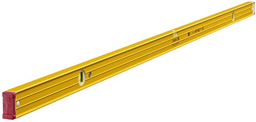 STABILA waterpas serie 96 200 cm, met zeldzame-aard-magneetsysteem. 200 cm mit Magnet geel