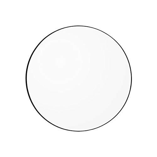 AYTM - Circum - Spiegel - helder/zwart - MDF/spiegelglas - Ø 90cm x H: 2cm