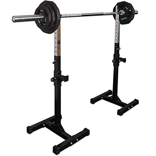 Home Equipment Soporte multifuncional para mancuernas Soporte ajustable para sentadillas Soporte para barra para entrenamiento muscular efectivo Gimnasio en casa Fitness Carga máxima 150 kg (transp