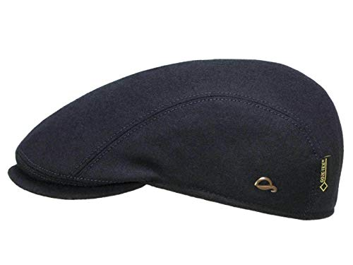 Göttmann Jackson Gore-Tex Flatcap mit Ohrenklappen - Marine (55) - 59 cm