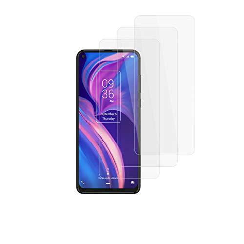 """Henxunton TCL Plex 6.53"""" Vetro Temperato, [3 Pezzi] 9H Durezza HD Pellicole Protettive, Pellicola Vetro per TCL Plex Smartphone"""