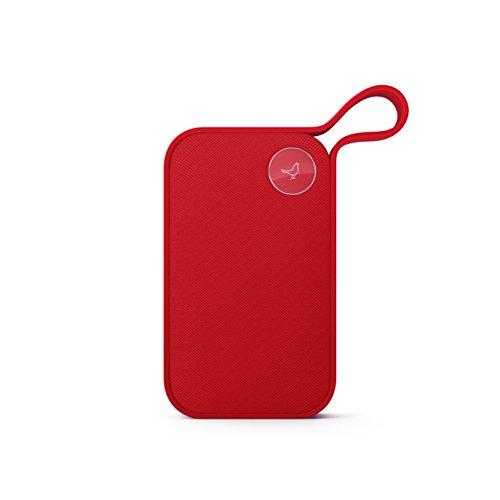 Libratone ONE Style Bluetooth Lautsprecher (360° Sound, Touch Bedienung, IPX4 Spritzwassergeschützt, 12 Std. Akku) cerise red