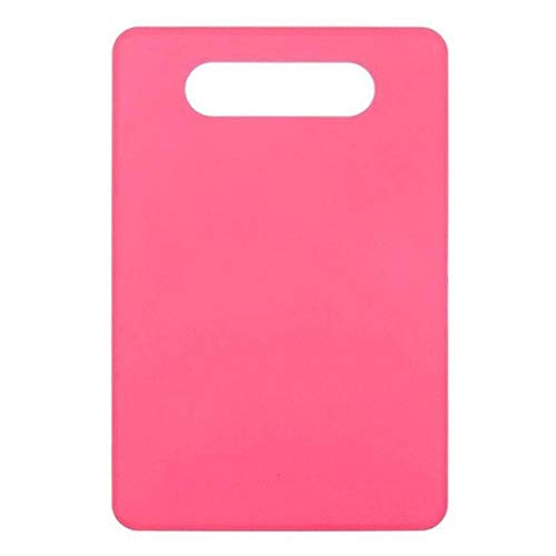 Kitchen Plastic Vegetable Fruits Candy-colored non-slip cutting boardOutdoor Camping Food Cutting Board Non-slip Kitchen tools - s6,blue