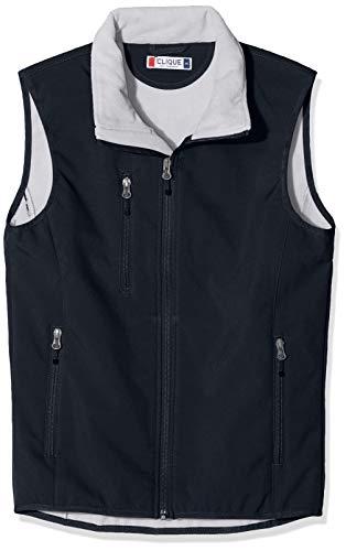 CLIQUE Herren Softshell Vest Gilet Outdoor Weste, Blau (Dunkles Marineblau), XL