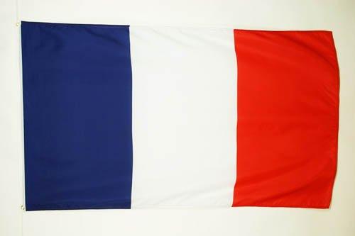 AZ FLAG Flagge Frankreich 90x60cm - FRANZÖSISCHE Fahne 60 x 90 cm - flaggen Top Qualität