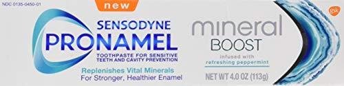 Sensodyne Pronamel Mineral Boost Enamel Toothpaste for Sensitive Teeth, 0.29 Lb