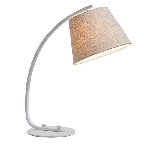 Lámpara Escritorio LED Lámpara de escritorio de tela LED Dormitorio de la sala de estar junto a la cama Estudio de estudio...