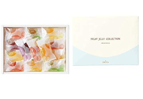 彩果の宝石 フルーツゼリーコレクション (25個入り) 国産もち米あられ1個セット