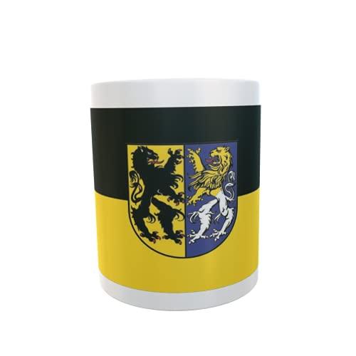 U24 Tasse Kaffeebecher Mug Cup Flagge Markkleeberg