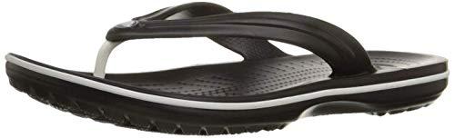 Crocs Unisex Crocband Zehentrenner' Flip, Black, 39/40 EU
