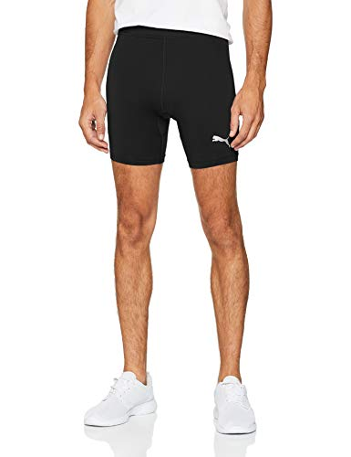 Puma Liga Baselayer Short Tight Pantalones Cortos, Hombre, Negro Black, M