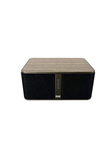 Elac DS-Z31W-GB Discovery Z3 Wireless Speaker for Streaming Music Black and Walnut