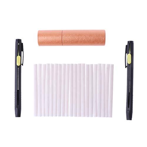 cuigu 1Set de lápiz de lectura de tela para couturiers con la tiza lápiz de la tiza couturières invisibles para la costura
