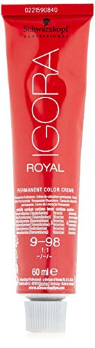 Schwarzkopf IGORA Royal Premium-Haarfarbe 9-98 extra hellblond violett rot, 1er Pack (1 x 60 ml)