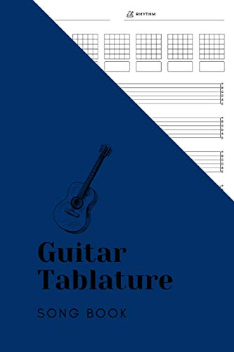 Guitar Tablature Song book: Guitar Music Tabs Journal, Blank Guitar Tab Paper, 120 pages for Guitarist and Musicians (Guitar Chord Diagrams - Tablature Staff Music Paper)