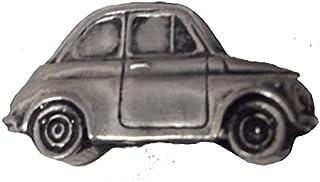 Spilla classica per auto italiana 500 ref64 effetto peltro