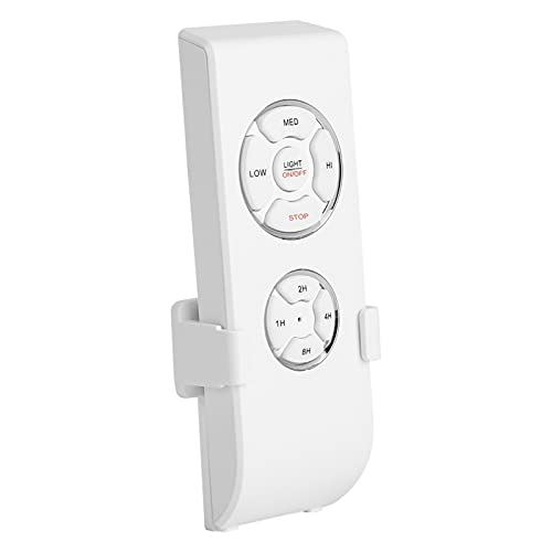 BOLORAMO Control Remoto De La Lámpara del Ventilador De Techo, Control Remoto Universal De La Lámpara del Ventilador De 4 Tiempos para La Oficina