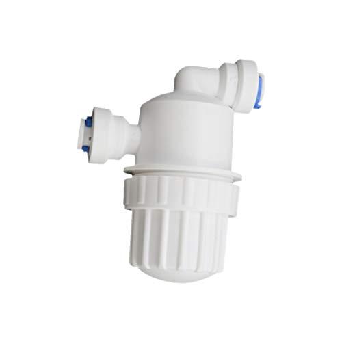 2 vías Filtro de Agua Filtro de Conector de la Manguera de Agua Conector Jardín nebulización Sistema de Agua Filtro Conectores de Tubos de Acero Inoxidable con Malla de Filtro