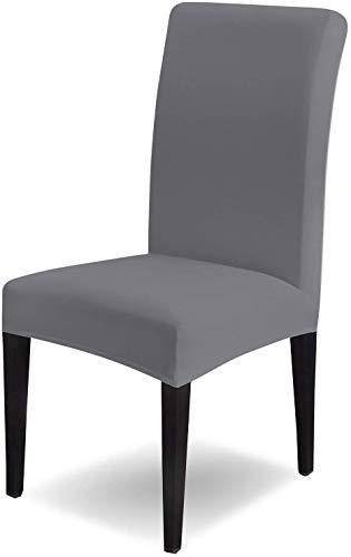 AngLink Stuhlhussen, Elastische Moderne Beschützer Stuhlhussen, Elastischer Stuhlbezug Stretch Abnehmbare Waschbar