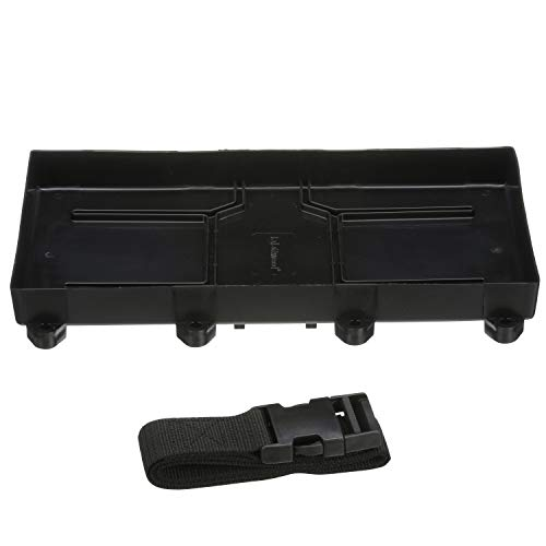 Attwood 9099-5 Battery Tray With Strap, 29/31 Series Battery, 12 7/8-Inches L x 7-Inches W, For Up to 10 1/2 Inches Tall