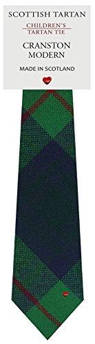 I Luv Ltd Garçon Tout Cravate en Laine Tissé et Fabriqué en Ecosse à Cranston Modern Tartan