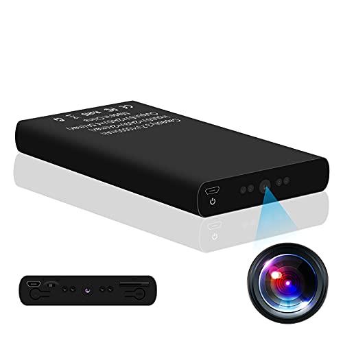 Cámara de vigilancia KAMREA HD 1080P 10000mAh Powerbank Cámara oculta Mini Nanny Cam para seguridad en casa, en la habitación y en la oficina