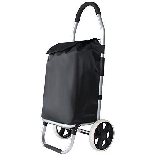 GUONING-L Shopping Folding Shopping Carts, Carts, Hand Luggage Carts, Portable Trailers, Trolleys. Trolley