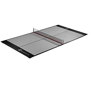 MD Sports 4-Piece Table Tennis Tabletop Gray & Black  Midsize Conversion Top  84    TT409Y19003