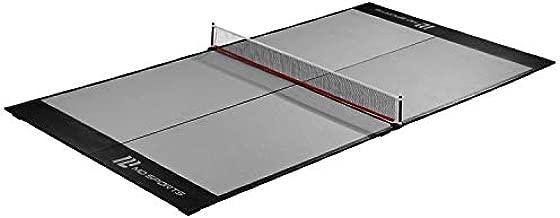 MD Sports 4-Piece Table Tennis Tabletop, Gray & Black (Midsize Conversion Top), 84'' (TT409Y19003)