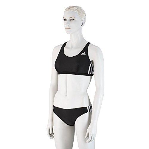 adidas Damen I 3S 2Pc Bikini, schwarz, 44