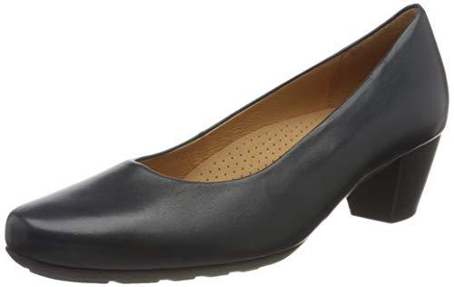 Gabor Shoes Damen Comfort Fashion Pumps, Blau (Ocean 26), 42 EU